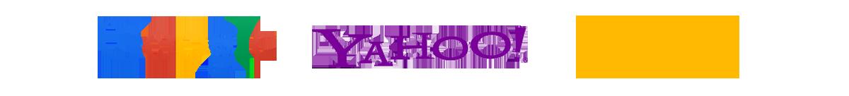 Google | Yahoo | Bing